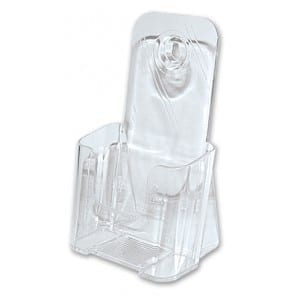 1/3 A4 Brochure Holder - 1 Tier - DL Size-0