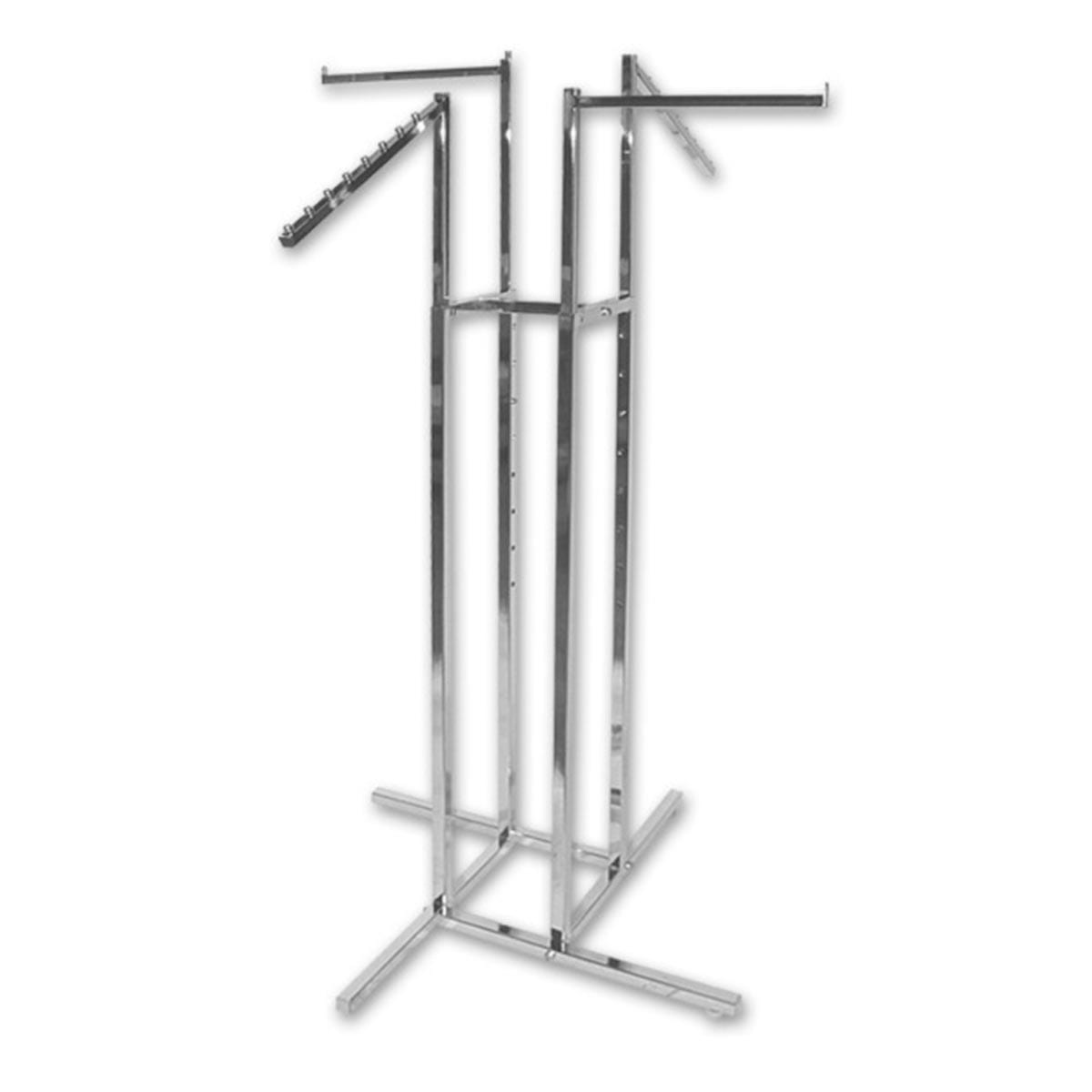 metal clothes rack display stand