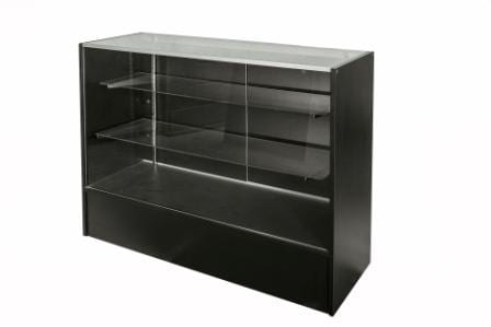 Timber & Glass Display Counter-1200mm-1351