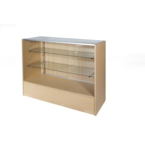 Timber & Glass Display Counter-1200mm-0