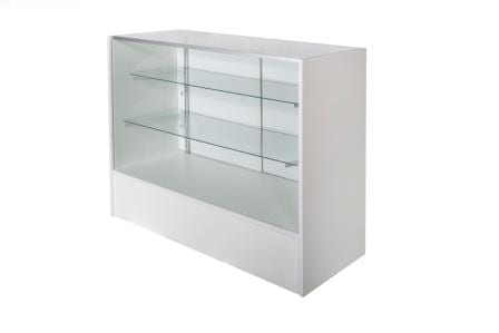 Timber & Glass Display Counter-1200mm-1350