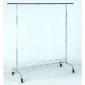 clothing rack heavy duty single rail