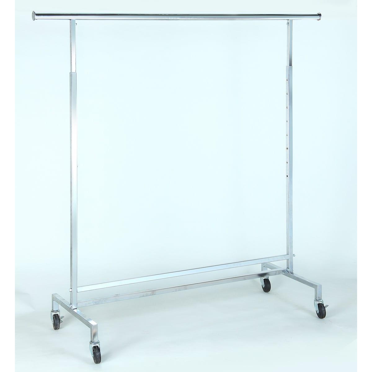 clothing rack heavy duty single rail