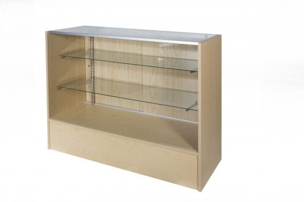 Timber & Glass Display Counter – 1500mm-1634
