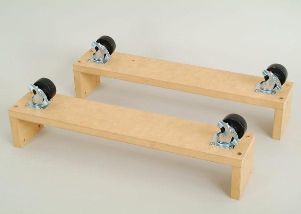 Slatwall Gondola – H Castor Kit-0
