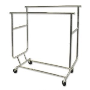Clothing Rack Light Duty - Double Rail-0
