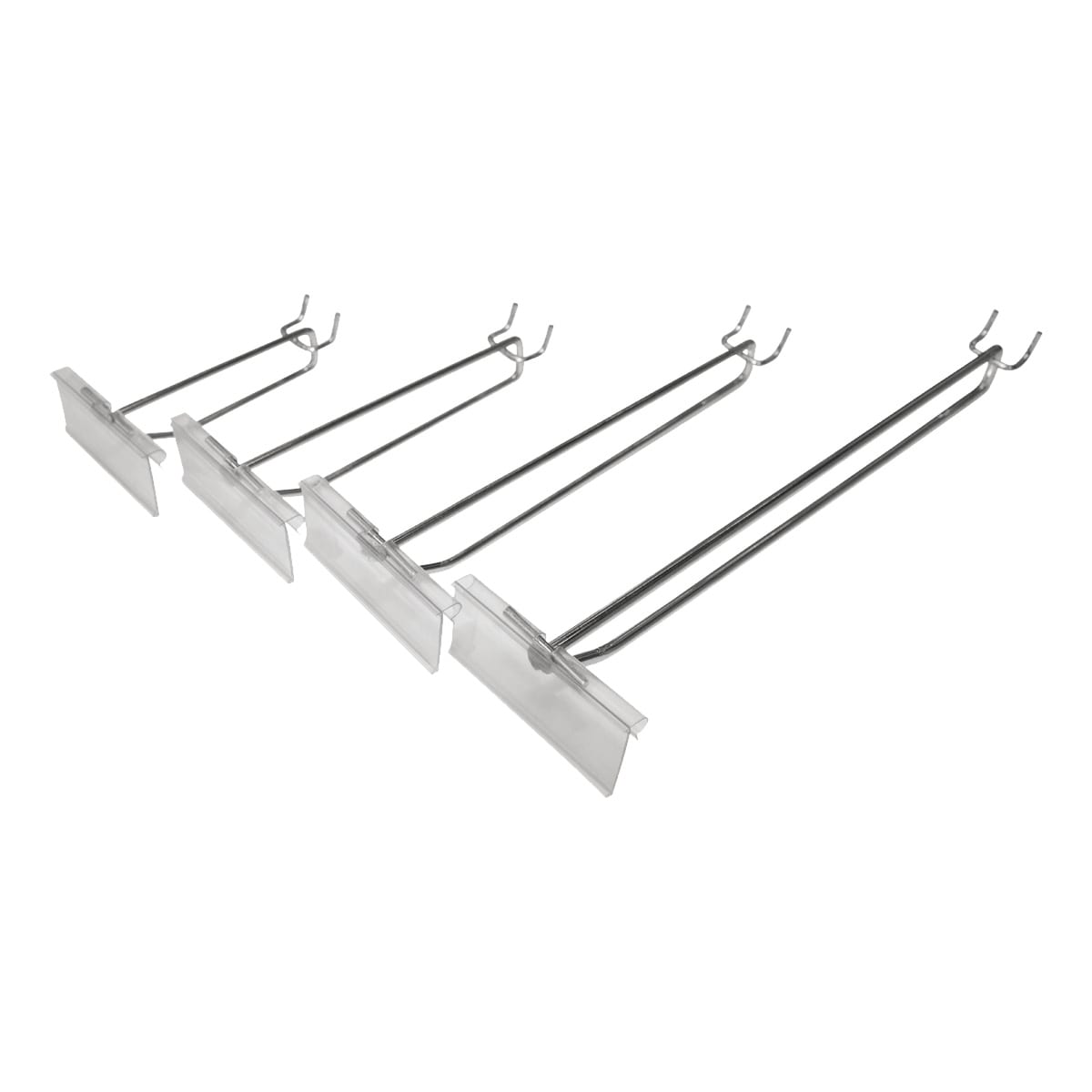 pegboard flipper hooks for pricing display