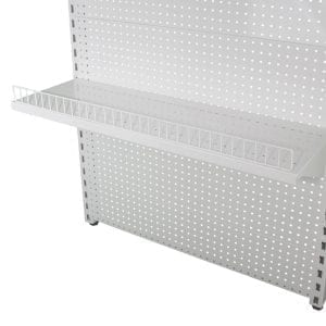shelf gate to stop product falling off
