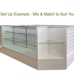 shop counter set up example