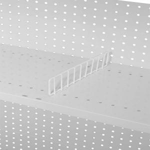 shelving side gates to separate product