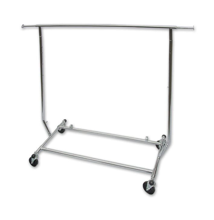 Clothing Rack Light Duty - Single Rail-0