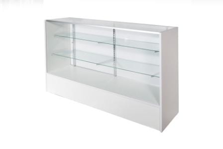 Timber & Glass Display Counter – 1500mm-1360