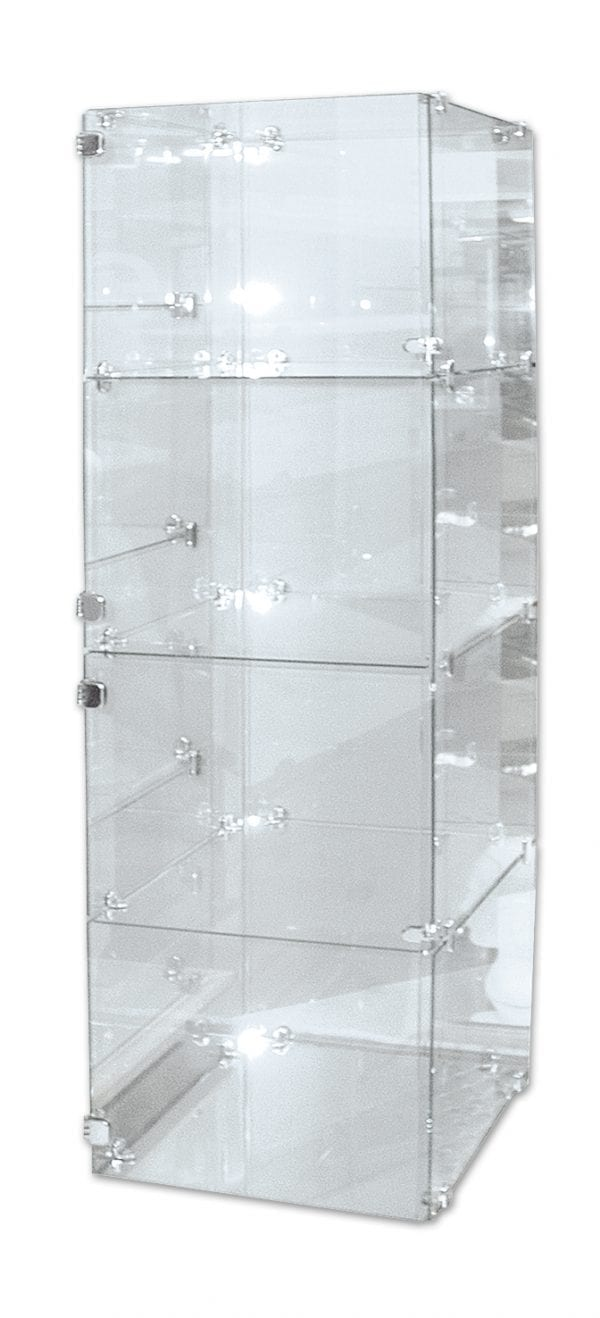 Glass Display Case – 4 Cube-0