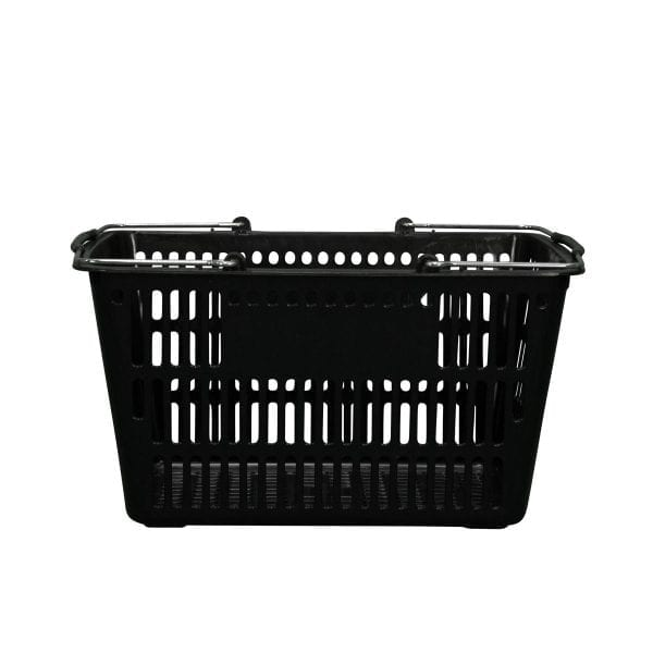 black-plastic-shopping-basket