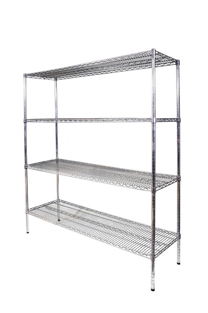 Light Duty Wire Shelving - 1800mm-0