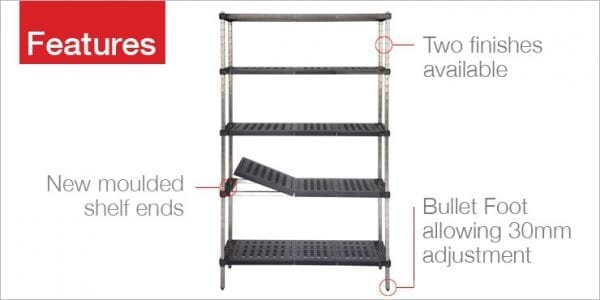 Heavy Duty Mantova Cool Room Shelving – ABS Tuff Shelf Ask For A Price-1790