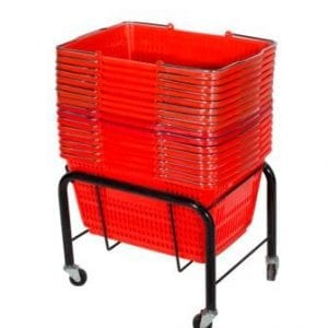 Shopping Basket Stand-0