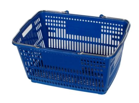 Shopping Basket - Red or Blue-0