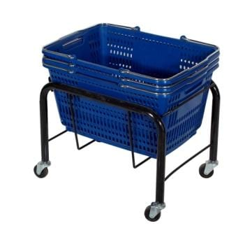 Shopping Basket Stand-1314