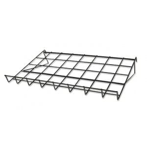 grid mesh shelf
