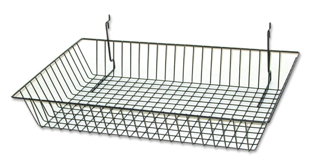 Slat Grid Basket - Small-0