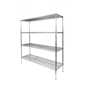 Light Duty Wire Shelving - 1200mm-0
