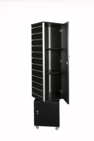 Slat Wall Tower Display Unit-1374