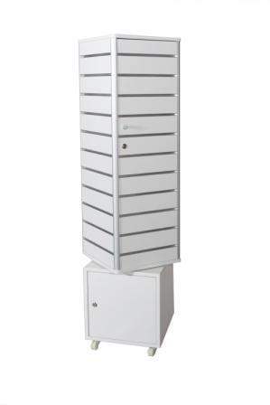 Slat Wall Tower Display Unit-1382
