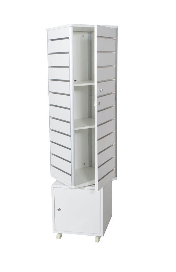 Slat Wall Tower Display Unit-1381