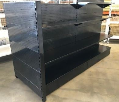 Black Gondola Feature End Bay - Ask For A Price-1797