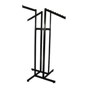 retail clothing rack black