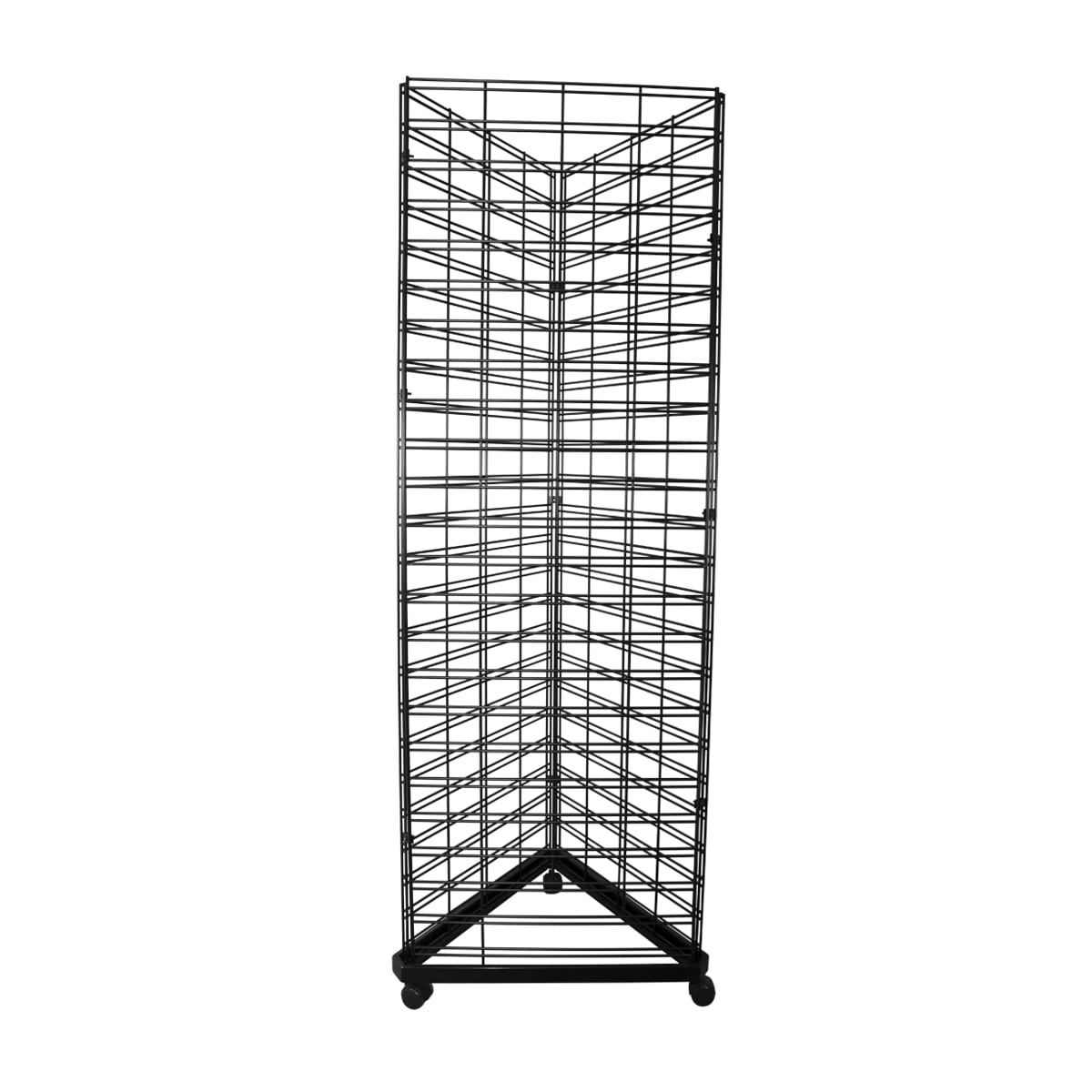 mesh display stands