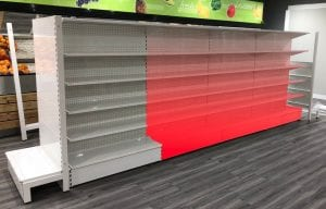 add on bays of shelving