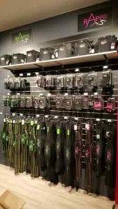 custom slatwall for merchandising