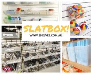 shelf box and slatbox systems