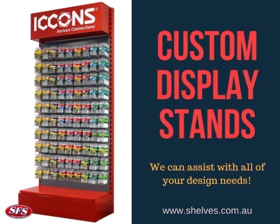product display stands australia