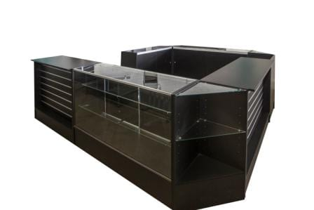 configurable shop counter for retail