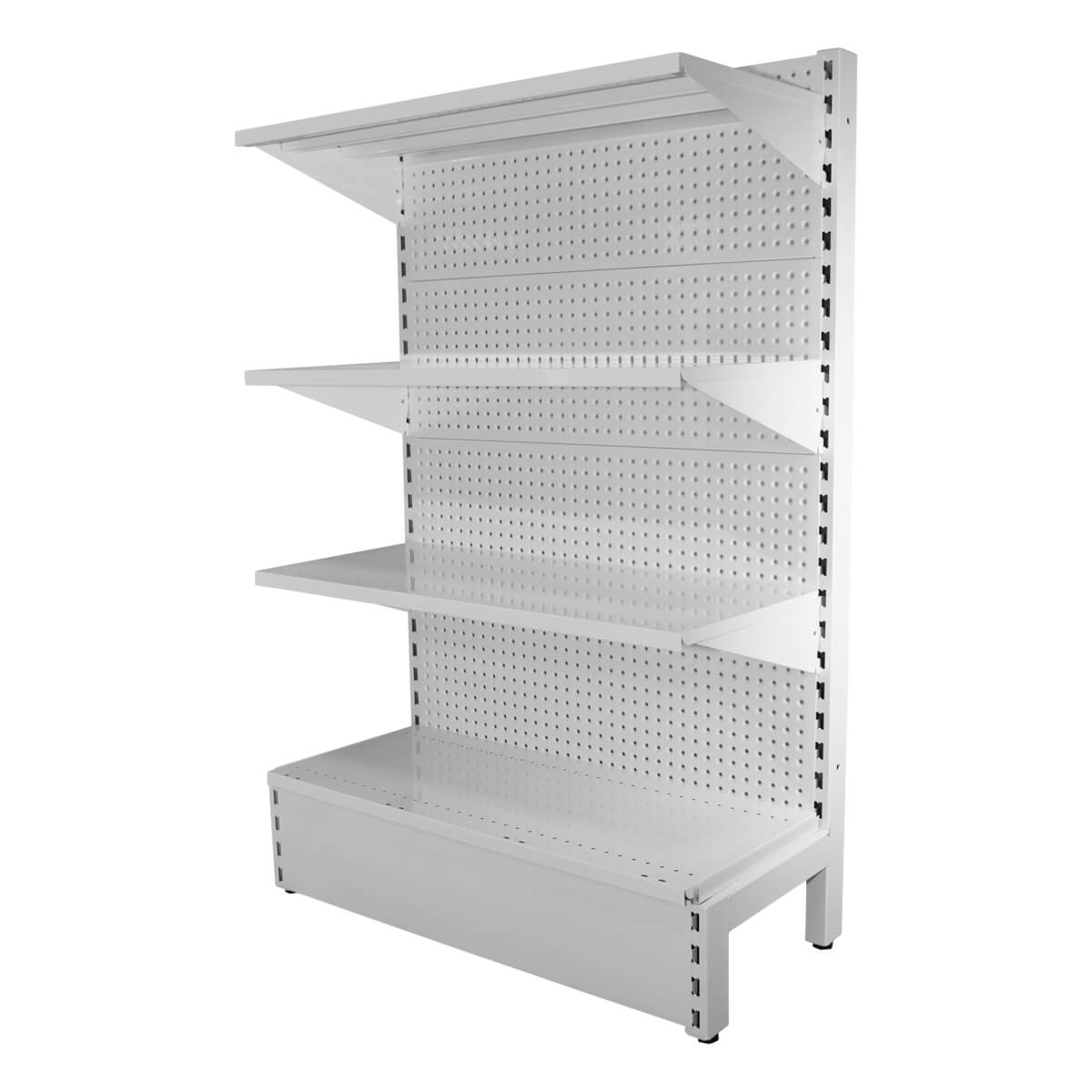 white volcano panel shelving