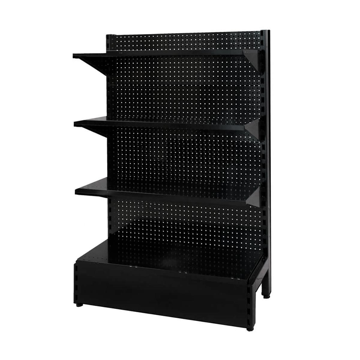 metal pegboard shelves for shops