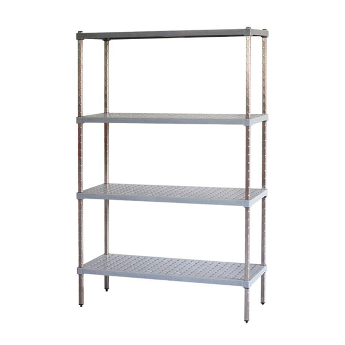 coolroom storage system with shelves