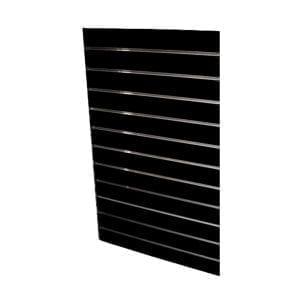 slatwall panel quarter sheet black