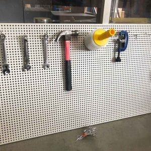 second hand pegboard