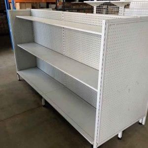 used shelving and shop fittings