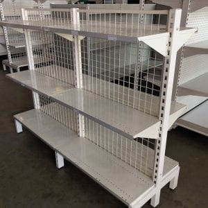 used mesh shelving