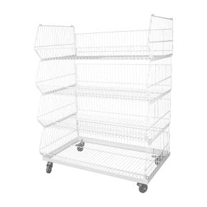 wire display stand stackable