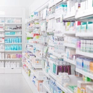 Pharmacy Shelving